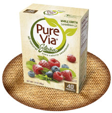 Pure Via 40ct Packets